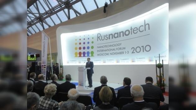 En Moscú se celebra el foro internacional de nanotecnología