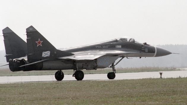 La Armada rusa recibe los primeros cazabombarderos avanzados MiG-29K/KUB