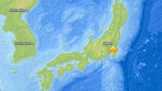 Un sismo de 5,5 en el centro de Japón se deja sentir en Fukushima y Tokio