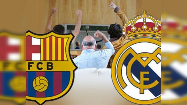Ver los próximos clásicos Barcelona-Real Madrid aumenta el riesgo de sufrir un infarto