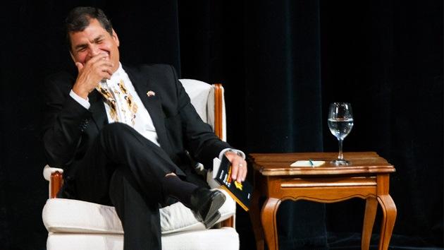 """Correa ante acusación de espionaje: """"Queda demostrado que fue solo otra farsa más"""""""