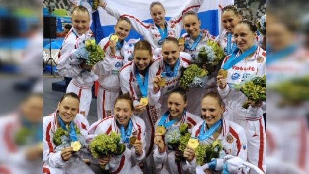 Rusia obtiene su quinta medalla dorada en el Mundial de Natación
