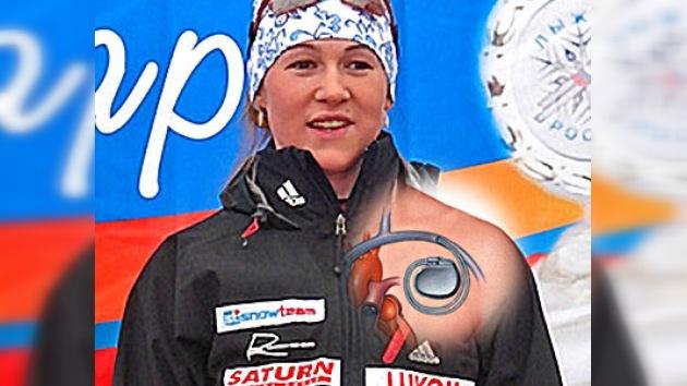 Diana Saprónova se prepara para los Juegos de Vancouver 2010