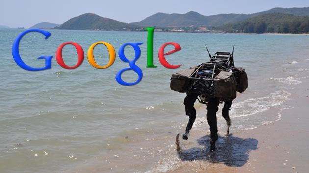 Google compra una compañía que desarrolla robots militares para el Pentágono