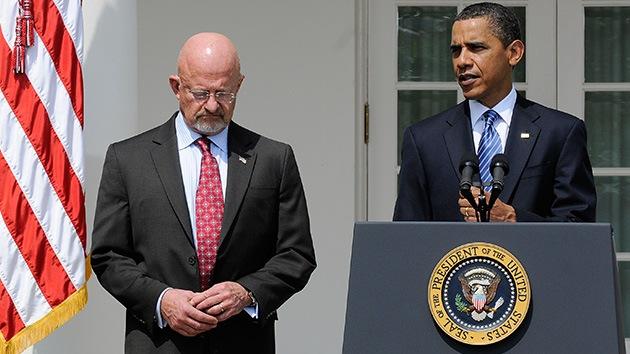 Obama defiende al director de Inteligencia Nacional que mintió ante el Senado