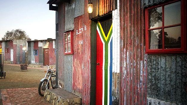 Fotos: Conocer la pobreza visitando un balneario de lujo en Sudáfrica