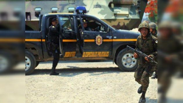 Centroamérica presenta sus armas para luchar contra el crimen
