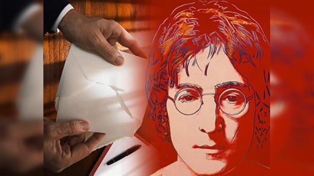Una carta de John Lennon tardó 34 años en encontrar a su destinatario