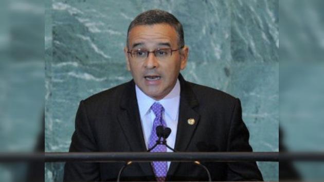 Mauricio Funes pide a EE. UU. unirse a la batalla contra el narcotráfico