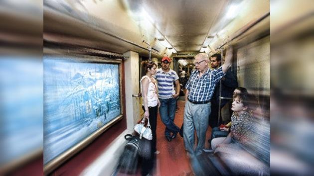 El arte llega al subterráneo de Moscú