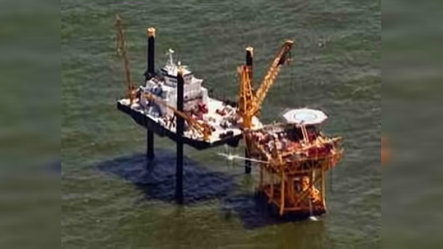Plataforma de crudo estalló en Golfo de México