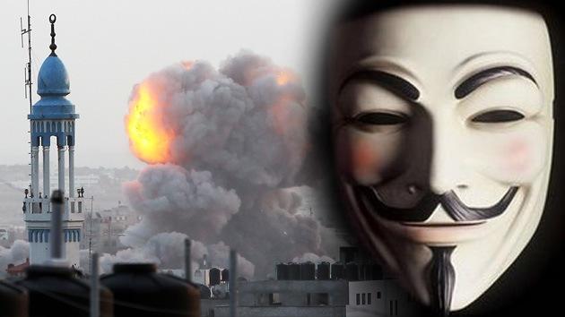 Video-amenaza de Anonymous: La Defensa de Israel no olvidará este noviembre del 2012