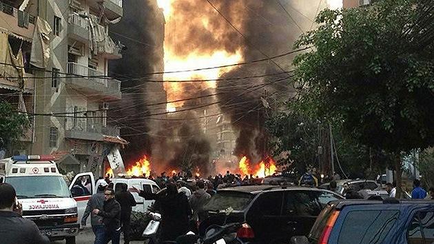 Líbano: Una fuerte explosión sacude el sur de Beirut