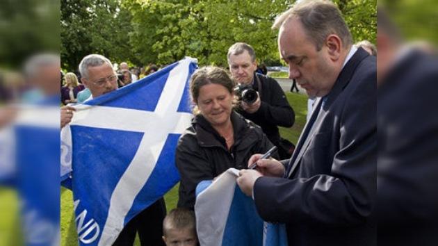 Triunfa el nacionalismo en Escocia y anuncia un referendo de independencia