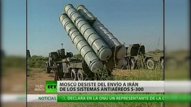 Rusia suspende el suministro de complejos antiaéreos S-300 a Irán