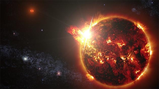 NASA detecta el destello más grande jamás registrado de una estrella enana roja