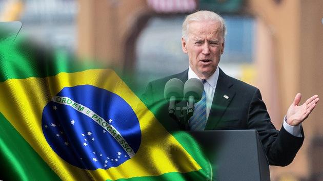 """Joseph Biden: """"Brasil es ahora uno de los líderes del mundo"""""""