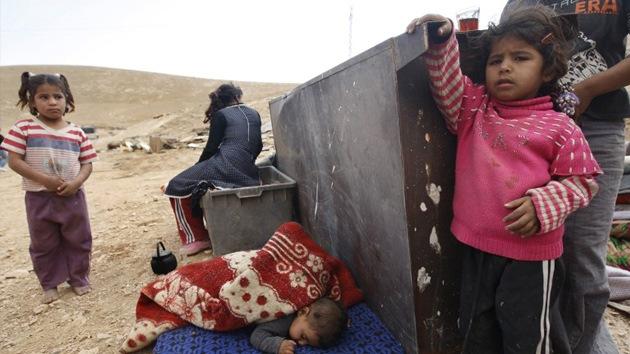 """Israel desaloja una localidad cisjordana para hacer prácticas """"con fuego real"""""""