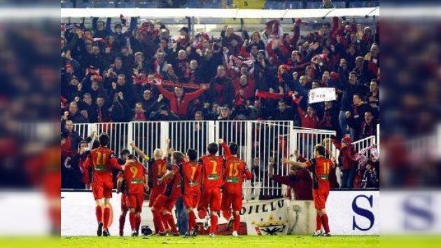 El CD Mirandés sigue asombrando en la Copa del Rey