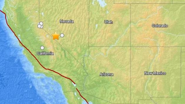 Un sismo de 5,1 grados sacude Nevada