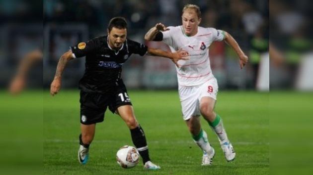 Rubín y Lokomotiv arrancan en la Europa League con sendas victorias