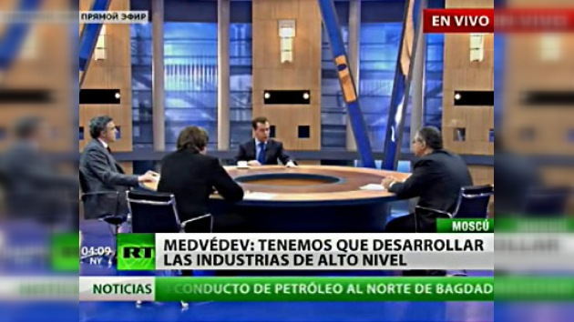 Dmitri Medvédev repasa los acontecimientos de 2009 ante la prensa