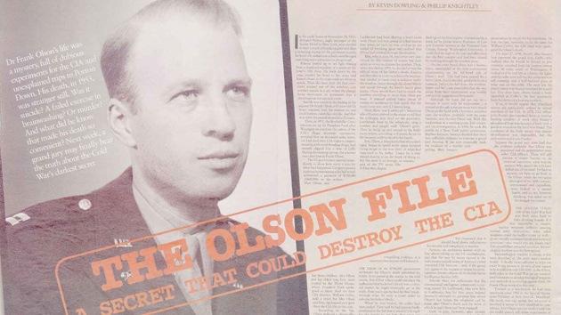Demandan a la CIA por la muerte de un científico en 1950