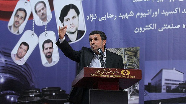 Ahmadineyad: Irán y Rusia cooperarán en la construcción de dos reactores nucleares