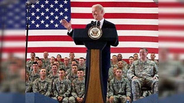 """Biden visita Irak un día antes del fin de la """"misión de combate"""""""