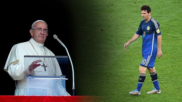 Seleccionador de paz: El papa reúne a Messi, Maradona y Zidane en un partido por Gaza