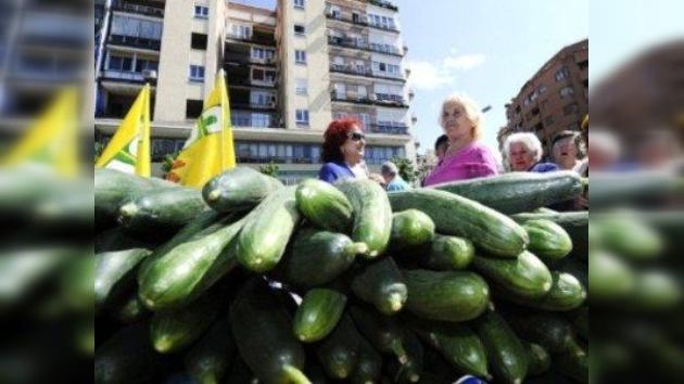 España exige que la UE cubra las pérdidas por la 'crisis de pepino'
