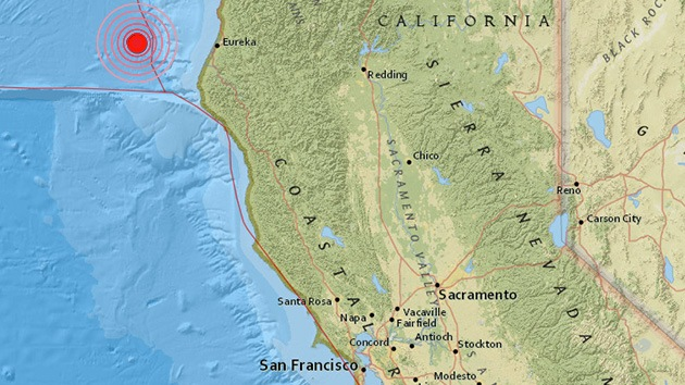 Un fuerte terremoto sacude California
