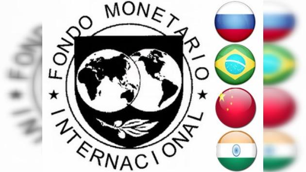 Rusia, Brasil, China e India reciben más poder en el FMI