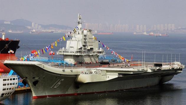 La Armada china, un gigante naval con los pies de barro