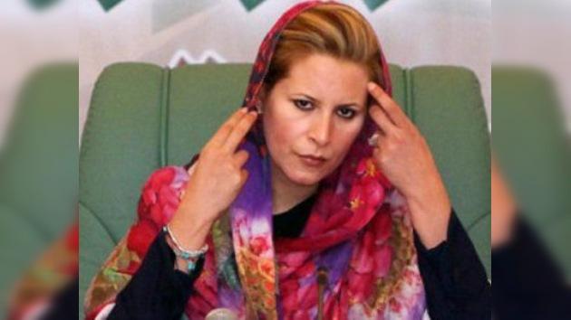 La hija de Gaddafi podría pedir asilo a Israel