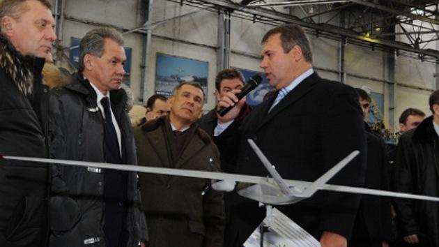 Publican la foto de la maqueta de un nuevo drone ruso
