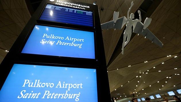 Evacúan el aeropuerto internacional de San Petersburgo por amenaza de bomba