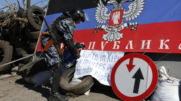 Combates tras un ataque a un punto de control en la región de Donetsk, este de Ucrania