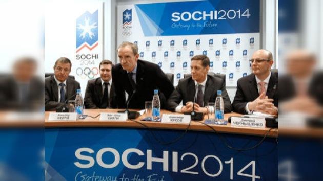 La Comisión del Comité Olímpico valora positivamente los proyectos de Sochi