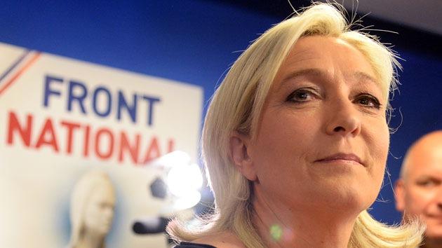 """Marine Le Pen a RT: """"Es la culminación de la Guerra Fría de EE.UU. contra Rusia"""""""