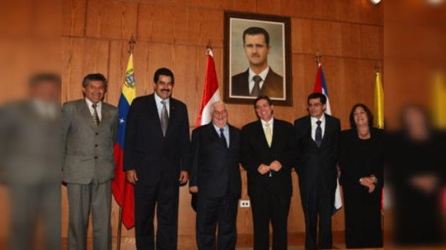 La ALBA 'apoya integralmente' al régimen sirio