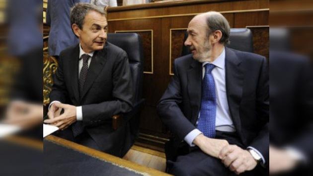 Rubalcaba deja el Gobierno para aspirar a la presidencia de España como candidato del PSOE