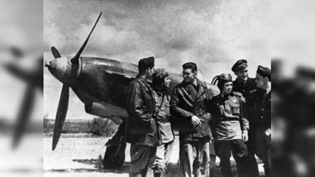 La legendaria escuadrilla francesa visita Moscú
