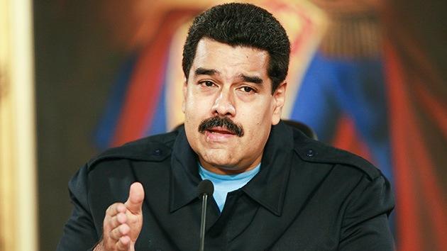 """Maduro convoca """"una gran marcha"""" contra el """"genocidio"""" del pueblo palestino"""