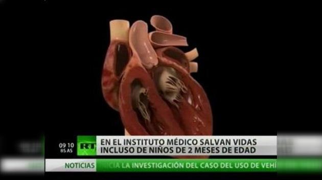 Cardiocirujanos rusos salvan a los más pequeños
