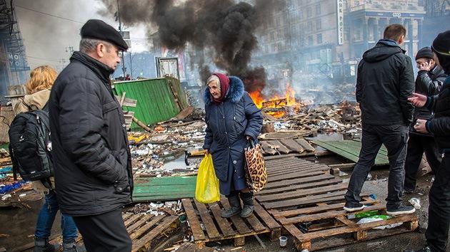 """""""Lo que sucede en Ucrania es un holocausto del siglo XXI"""""""