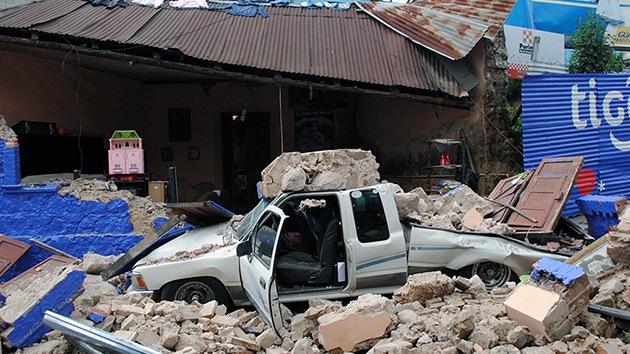 Guatemala llora tras el terremoto de 7,5 grados