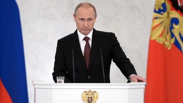 Video: Versión completa del mensaje de Putin a la Asamblea Federal sobre Crimea