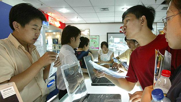 Microsoft alerta que alguns chineses podem trazer vírus 'fábrica' portátil