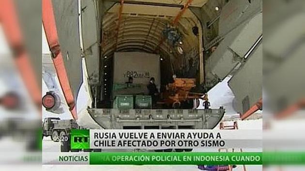 Rusia envia ayuda a Chile, afectado por otro sismo